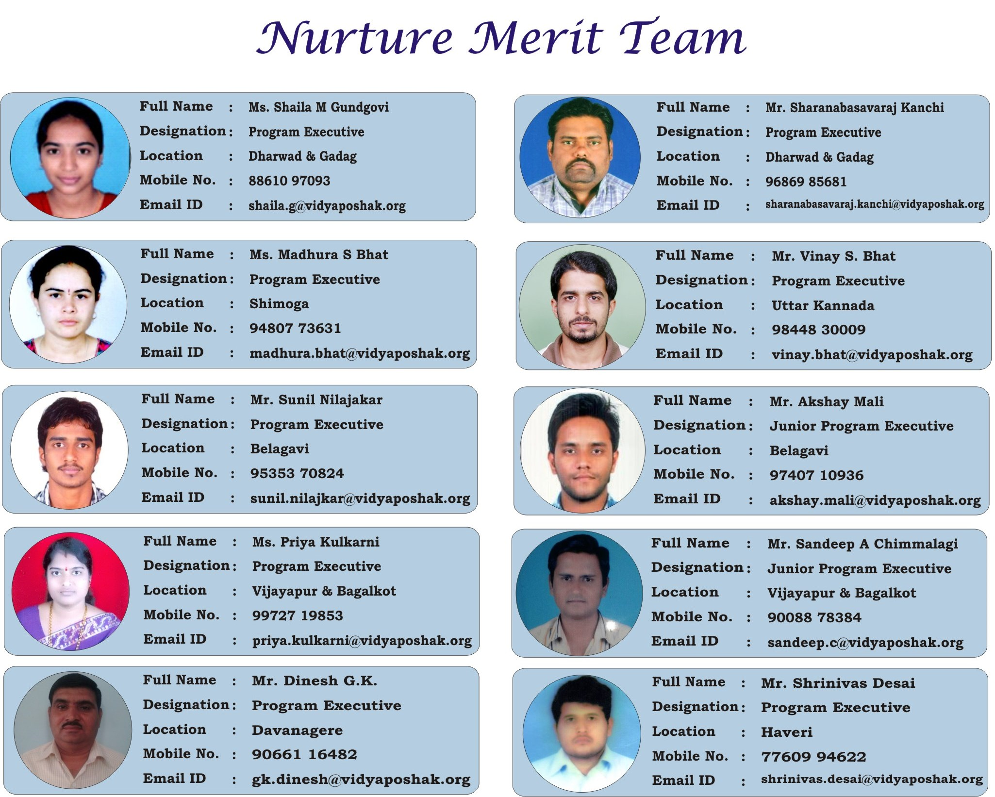 Nurture Merit Team